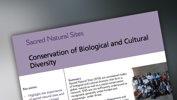 Conservation of Biological and Cultural Diversity