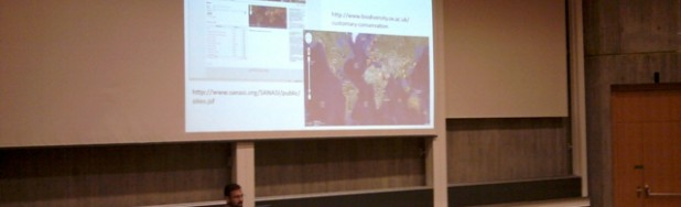 Shonil Baghwat during his guest lecture at Zurich University.