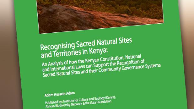 Recognising Sacred Natural Sites and Territories in Kenya