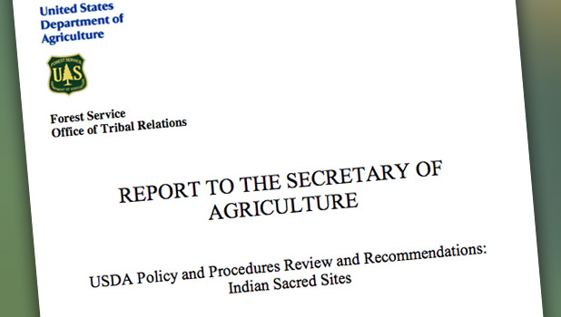Secretary Of Agriculture Report
