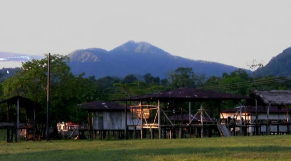Careperro: a sacred spirit mountain (or Jaikatuma in Emberan)and SNS, near Murindo, Colombia [Permission from Producciones El Retorno]