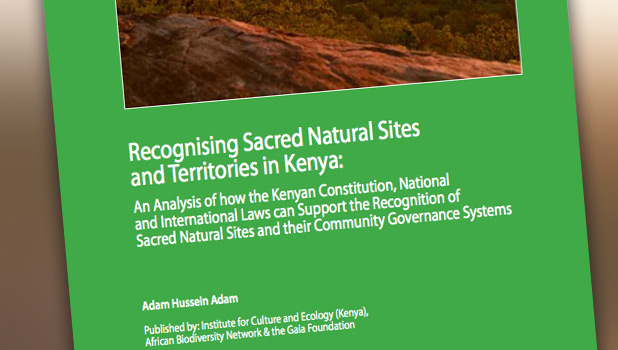 Recognising Sacred Natural Sites and Territories in Kenya